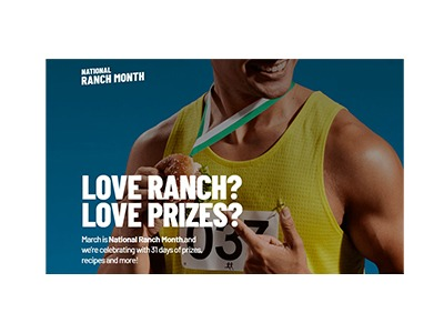 Hidden Valley National Ranch Month Sweepstakes