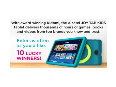 Joy Tab Kids 2021 Jump for Joy Giveaway