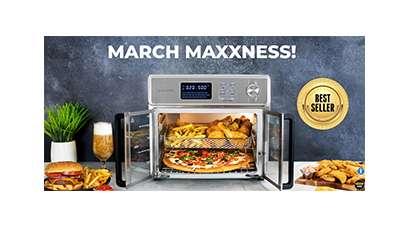 Kalorik March Maxxness Air Fryer Giveaway