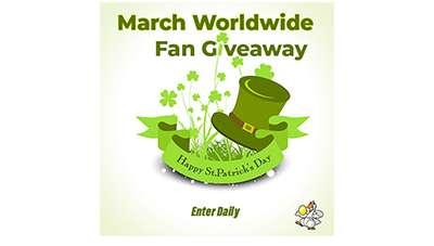 March Worldwide Fan Giveaway