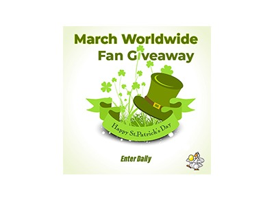March Worldwide Fan Giveaway