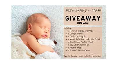 New Baby And Mom Medela Family Giveaway