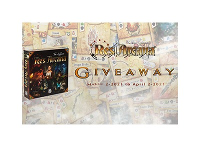 Res Arcana Board Game Giveaway
