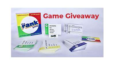The Rank Game Giveaway