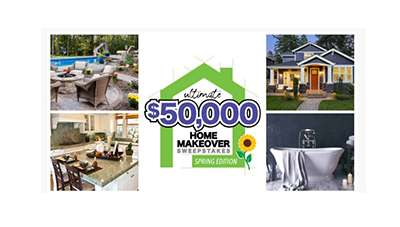 Ultimate Spring Home Makeover Sweepstakes