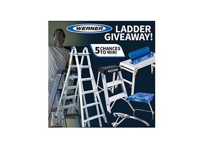 Werner Ladder Giveaway