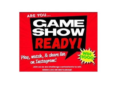 Win $1,000 on Game Show Ready