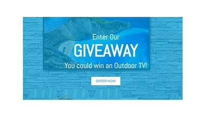 Win a Neptune Shade Series Outdoor TV