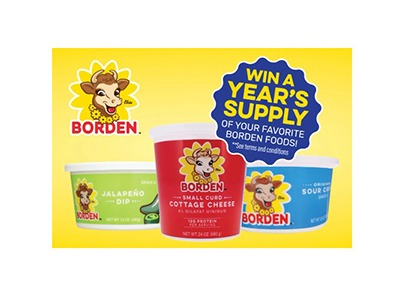 Borden's Best Recipe Sweepstakes