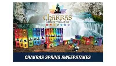 Chakras Spring Sweepstakes