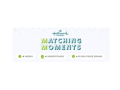Hallmark Channel Matching Moments Sweepstakes