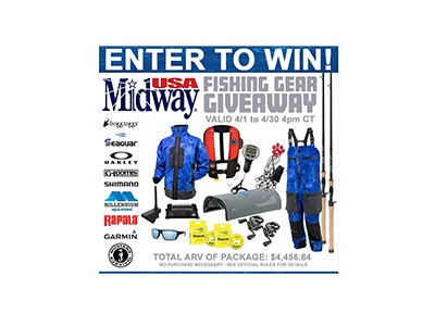 MidwayUSA's Fishing Gear Giveaway