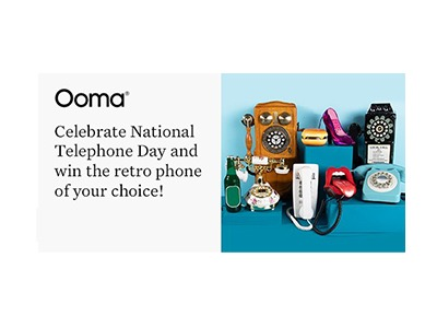 Ooma National Telephone Day Phone Sweeps