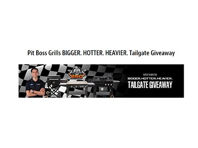 Pit Boss Grills Tailgate Giveaway