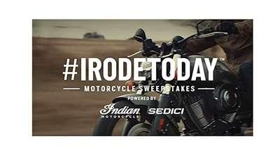 Polaris Industries #IRodeToday Motorcycle Sweepstakes