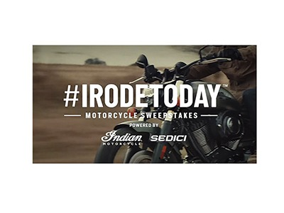 Polaris Industries #IRodeToday Motorcycle Sweepstakes