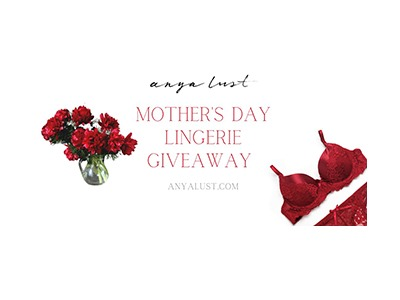 Romantic Lingerie for Mother's Day Giveaway