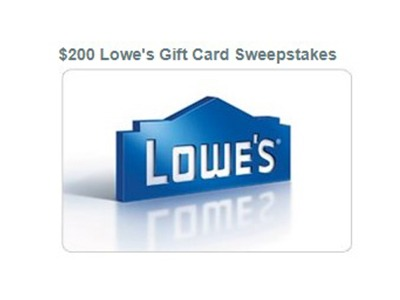 The Beat $200 Lowe's Gift Card Giveaway