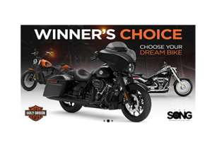 """The SONG'S Harley-Davidson """"Dream Bike"""" Sweepstakes"""