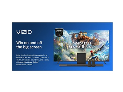 Vizio Pantheon of Gaming Giveaway