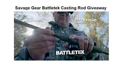 Wired2fish Savage Gear Battletek Casting Rod Giveaway