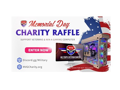 $5,000 PC Charity Raffle to Help Veterans