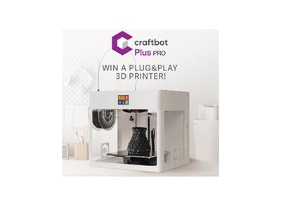 Win a Craftbot Plus PRO 3D Printer